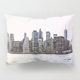 New York City Skyline Pillow Sham