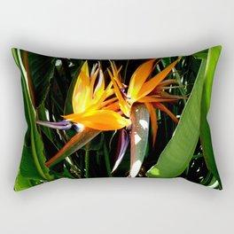 Birds in the Garden Rectangular Pillow