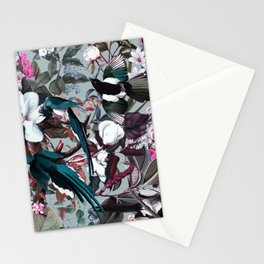 Floral and Birds XXIV Stationery Cards