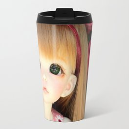 Mimi and the Butterfly Travel Mug