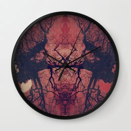 THE UNEXPLORED Wall Clock