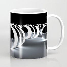 Tron Caps - Cinema 4D - Glow Light - Manafold Art Coffee Mug