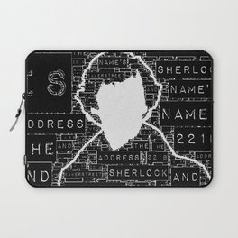 Sherlock BBC: Type Laptop Sleeve