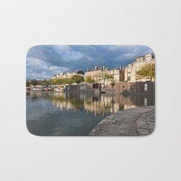 Nantes Riverside Scenery Bath Mat