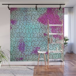 cats new colour 628 Wall Mural