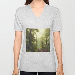 Long Forest Walk Unisex V-Neck