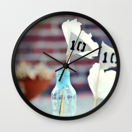 Living Water (10) Days Wall Clock