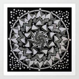 Mandala 008 Art Print