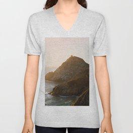 ocean falaise 7 Unisex V-Neck