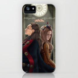 Clexa Medieval AU iPhone Case