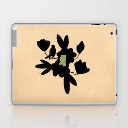 Mississippi - State Papercut Print Laptop & iPad Skin