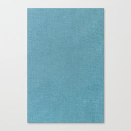 Solid Blue Canvas Print
