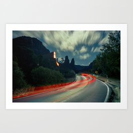 Sedona Buttes Art Print