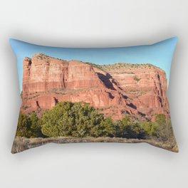 Red Rocks of Sedona Arizona Rectangular Pillow