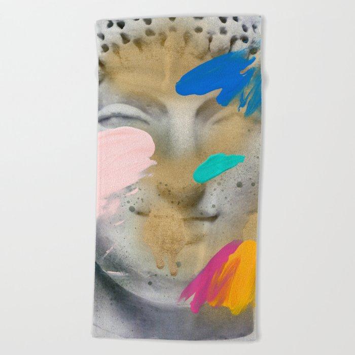 Composition 514 Beach Towel