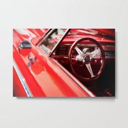 Red Ride Metal Print