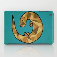 otter iPad Cases featuring Otter by Jackie Wyant
