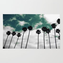 Palms in the sky Rug