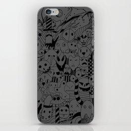 Monsters iPhone Skin