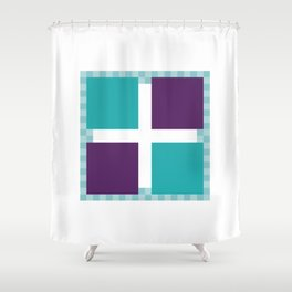 Thgiled Lufroloc Shower Curtain