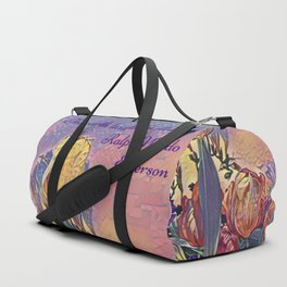 The earth laughs in flowers Duffle Bag