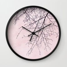 pink heaven Wall Clock
