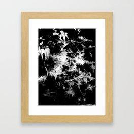Bats Inverse Framed Art Print