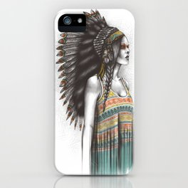 Silent Warrior iPhone Case