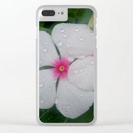 VINCA EYES Clear iPhone Case