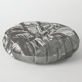 Family Outing Floor Pillow