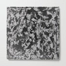 Black Ink on White Background #2 Metal Print