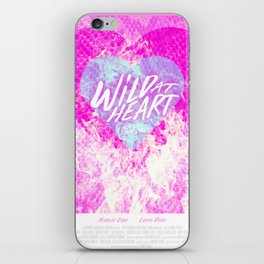 Wild at Heart iPhone Skin