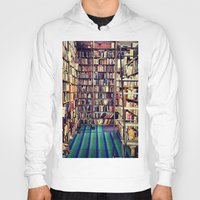books Hoodies featuring Books by Whitney Retter