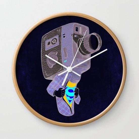 Super8 Wall Clock