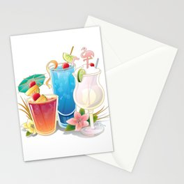 Tropical Drink #3 Stationery Cards