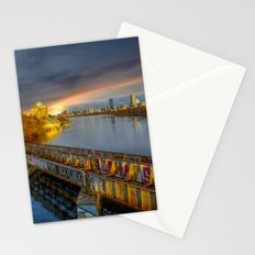 Graffiti bridge Stationery Cards