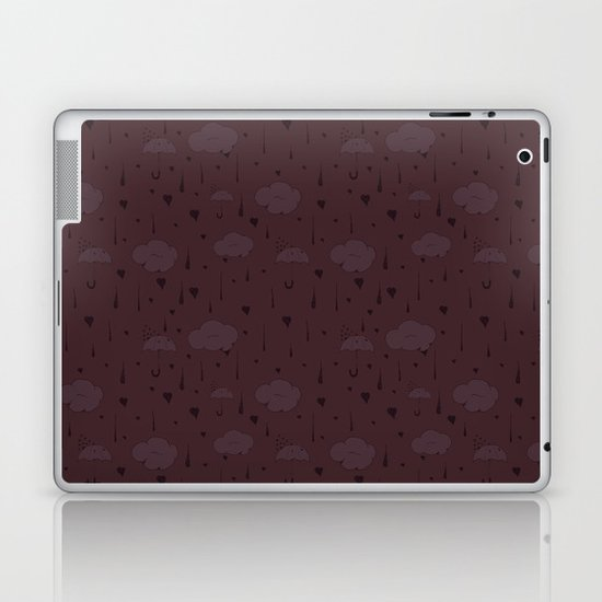 Rainy Love Laptop & iPad Skin