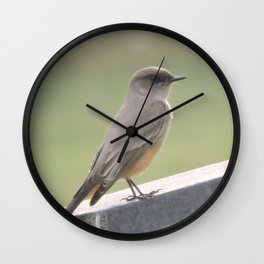 Catcher of the Fly Wall Clock