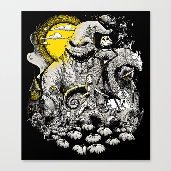 Nightmare! Canvas Print