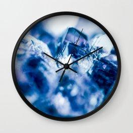 amethyst blue Wall Clock