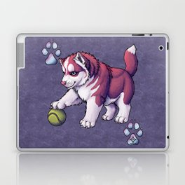 Husky Puppy Laptop & iPad Skin