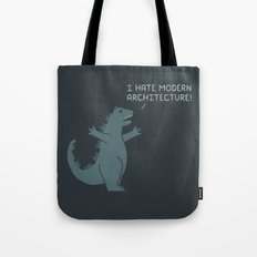 Monster Issues - Godzilla Tote Bag