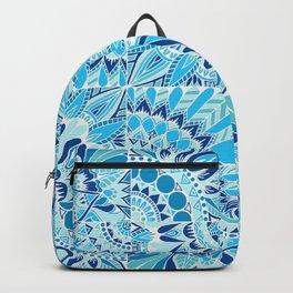 Inverted Ocean Mandalas Backpack