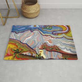 Earth Changes 1985 Rug