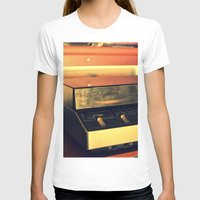 record T-shirts featuring record player by gzm_guvenc