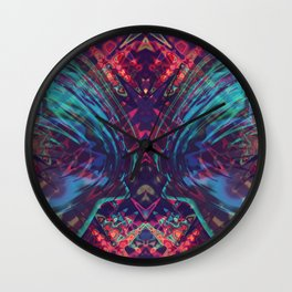 Space Wolf Wall Clock