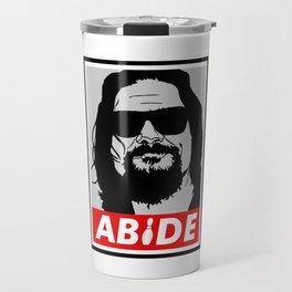 The Big Lebowski - Abide Travel Mug