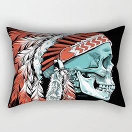 Skull Chief Rectangular Pillow