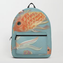 Gold neon Backpack