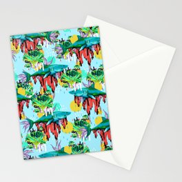 We are their cure Stationery Cards